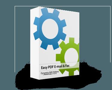 EASY PDF Email Fax - Microsoft Dynamics NAV Creator Navision